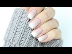 Easy Ombré French Manicure! - YouTube