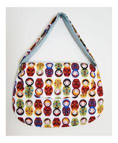Bolsa com aba para notebook ou tablet - diversos tamanhos - matrioskas