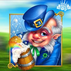 Slot Online, Casino Games, Leprechaun, Slot Machine, Game Design, Irish, Survival, Creatures, Icons