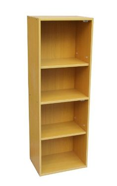 ORE International JW-197 Adjustable 4-Tier Book Shelf