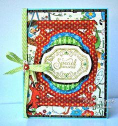 SCRAPS of (my) Life:  Bundle of Joy Vintage Labels Six Clear Stamps