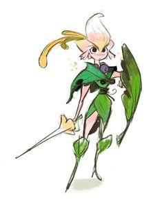 wrandonbu: Flower Knight ★ || CHARACTER DESIGN REFERENCES…