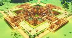 Minecraft Farmen, Minecraft Houses Survival, Easy Minecraft Houses, Amazing Minecraft, Minecraft Construction, Minecraft Blueprints, Minecraft Crafts, Minecraft House Tutorials, Minecraft House Designs