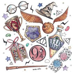 Art journals 824088431802401218 - 66 Ideas Tattoo Ideas Harry Potter Fan Art For 2019 Source by pimininimini