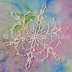 In My Head Snowflake - free crochet patterns
