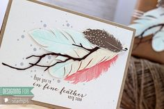 Stampin Scrapper: using new release stamps from http://www.waltzingmousestamps.com/