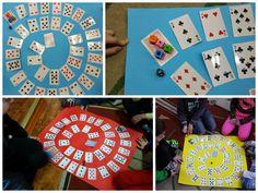 Gry karciane ~ Zamiast kserówki. Edukacyjne gry i zabawy dla dzieci. Scottie, Playing Cards, Christmas Decorations, Education, Math, Games, Diy, Activities, Therapy