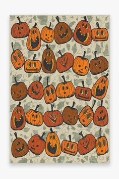 Jack O Lantern Orange Rug – Ruggable Fall Wallpaper, Halloween Wallpaper, Holidays Halloween, Halloween Decorations, Vintage Halloween Crafts, Halloween Icons, Retro Halloween, Halloween Ii, Halloween Quilts