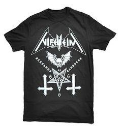 sinister merchandise: NIFELHEIM - Servants of darkness shirt.