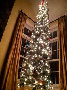BH Balsam Fir Balsam Hill Customer Showcase Pinterest Balsam  - Pre Lit Pencil Christmas Tree