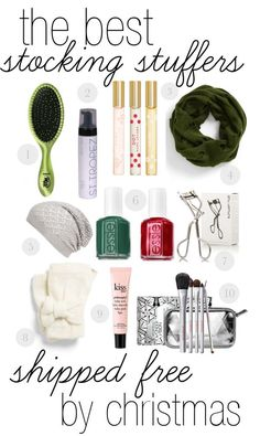the best stocking stuffers shipped free by christmas! for women