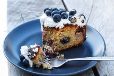 Blueberry Cake - Gluten Free - Foreverfit.tv :: Fitness | Nutrition | Online Gym
