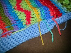 I am so excited to share this post with you. I have had so much fun making this blanket for my little grandson, that I was a bit sad whe...