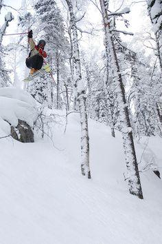 Skiing & Jumping by Visit Finland, Sotkamo, Finland, via Flickr