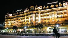 hotel situated on the shores of Lake Geneva in Switzerland