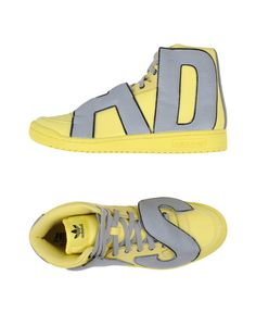 Jeremy Scott for adidas   Yellow High-tops   Trainers for Men   Lyst 5fcd2e976eb