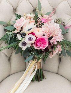 girly pink bouquet   thebeautyspotqld.com.au