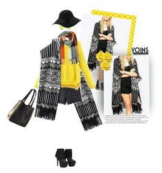 """""""Yoins Yellow Winter"""" by sibanesly ❤ liked on Polyvore featuring Balmain"""