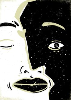 22 / Dani Raskovsky / Noche / from: La vuelta al mes en 30 ilustradores