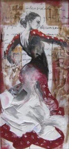 Flamenco-Events Galeries peintures Cécile Desserle