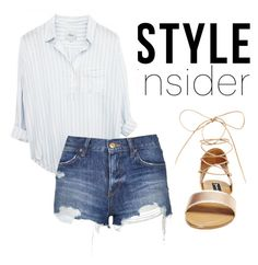 """""""Untitled #203"""" by preppedinpolos on Polyvore featuring Steve Madden, Topshop, contestentry, laceupsandals and PVStyleInsiderContest"""