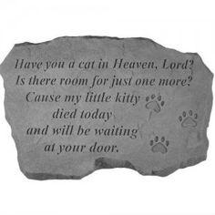 Poem cat saying cat heaven prayer cat in heaven poem robot check see