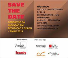 Teia Design: AMIDE: Congresso Inovação em Decoração e Design - ...