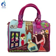 Candy  braccialini Style  Handbag Embroidered cartoon fashion Handbag
