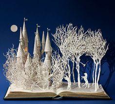 Artist Su Blackwell w/ author Wendy Jones for THE FAIRY-TALE PRINCESS -- Sleeping Beauty