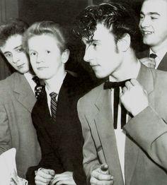 Teddy Boys of the 1950's.