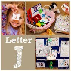 Home #Preschool Letter J