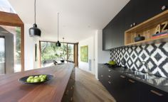 Kitchen and Dining - Bluff House Barwon Heads - Auhaus Architecture