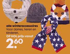 Deze week de winteraccessoires extra voordelig bij de Hema. Bekijk de folder op Reclamefolder.nl.