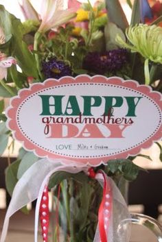 FREE Mothers Day (and Grandmother's Day) Printables by Embellish