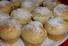 Fánk muffin recept képpel. Hozzávalók és az elkészítés részletes leírása. A fánk muffin elkészítési ideje: 55 perc My Recipes, Sweet Recipes, Cake Recipes, Cooking Recipes, Favorite Recipes, Donut Muffins, Donuts, Sweet Cookies, Hungarian Recipes