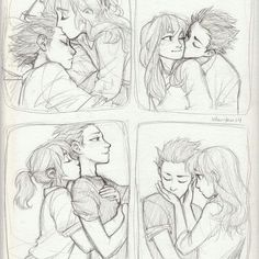 Anime: A Silent Voice, by burdge Couple Poses Drawing, Cute Couple Poses, Cute Couple Drawings, Drawing Poses, Drawing Sketches, Cute Couples, Art Drawings, Drawing Ideas, Sketch Art
