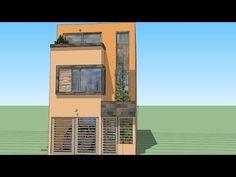 Como dise ar una casa de 6x15 mts de terreno for Casa moderna 7x15