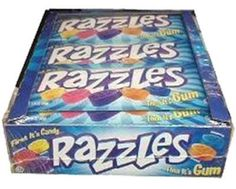 Razzles candy gum. Which is it
