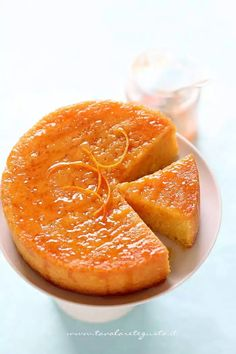 Torta all'arancia morbidissima, la ricetta perfetta! - Ricetta Torta all'arancia Italian Desserts, Sweet Desserts, Sweet Recipes, Cake Recipes, Dessert Recipes, Tortilla Sana, Perfect Cake Recipe, Orange Sanguine, Torte Cake