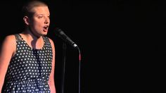 """STUTTERING -- Erin Schick performs her poem """"Honest Speech""""- - This clip is courtesy of YouTuber 'Button Poetry'."""