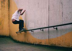 Crazy rad 50/50 #grind #skater #skateboarding #cool