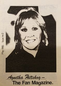 Visit my blog to read this issue of the Agnetha Fan Magazine from May 1985 #Abba #Agnetha http://abbafansblog.blogspot.co.uk/2014/10/agnetha-fan-magazine-2.html