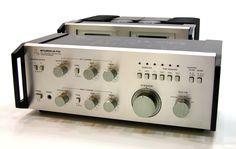 MITSUBISHI DA-A10DC amp, DA-P20 preamp & DA-M10 power meters