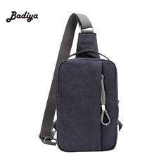 Vogue Trend Sling Bag Canvas Satchel Cool Casual Multicolor Chest Bag Shoulder Unbalance Fanny Backpack #Affiliate