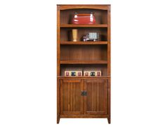 Cross Island Collection - Large Door Bookcase