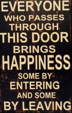 I want this sign for the front door of the bar