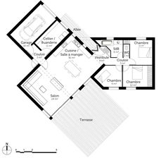 Nice Plan Maison Neuve 3 Chambres that you must know, You?re in good company if you?re looking for Plan Maison Neuve 3 Chambres Simple House Plans, New House Plans, Modern House Plans, House Floor Plans, Metal Building Homes, Building A House, The Plan, How To Plan, Philippines House Design