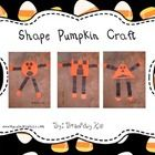 This is a great way to integrate shape identification into your Fall/Halloween/Pumpkin Units!  Students decide which shape is their favorite and ma...