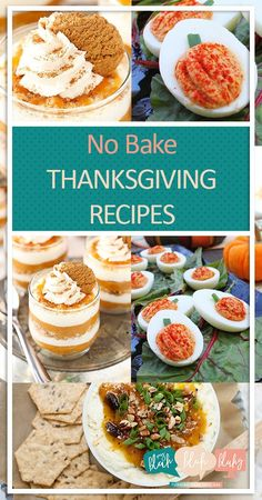 Thanksgiving Recipes, No Bake Recipes for Thanksgiving, No Bake Recipes, Thanksgiving DIY Recipes, Simple Thanksgiving Recipes, Easy to Make Thanksgiving Recipes, Popular Pin
