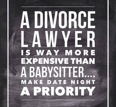 so true. this is why we budget in date nights! Best investment we can make for our children is to invest in our marriage
